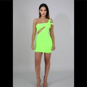 Dresses & Skirts - Neon green dress